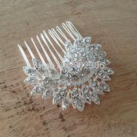 Bridal Rhinestone Hair Comb Wedding fascinator