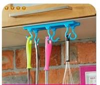 Kitchen cabinets ceiling hook ceiling storage rack   4114