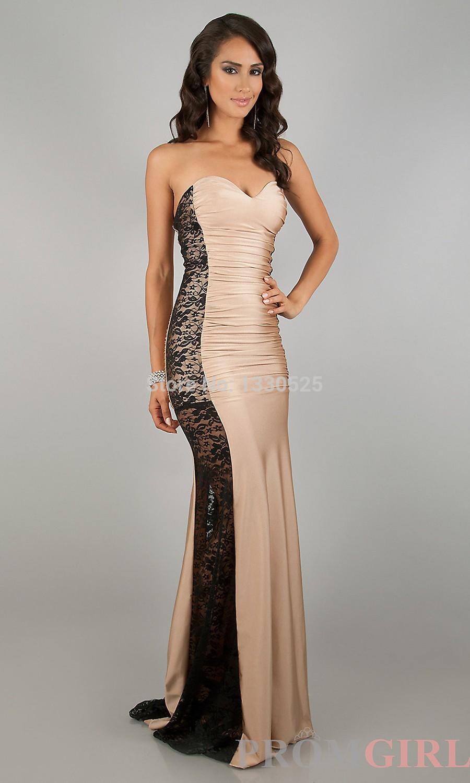 Evening dresses for hourglass figure