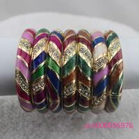Free shipping! lots10pcs New Fashion beautiful women Cloisonne Enamel Bracelet