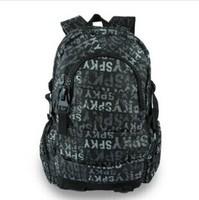 2014 men's backpacks men's  travel bags women backpack printed letters backpack school bags children backpacks free shipping