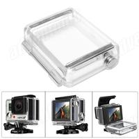 2014 New Arrival GoPro Hero 4/3+ Bacpac LCD  LCD Screen Waterproof Back Door with Axis + Gasket for Hero3+ Housing