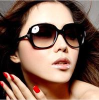 Big Brand Design Female Summer Fashion Black Sunglasses Eyewear Eyeglasses wholesale and Free Shipping #B-173