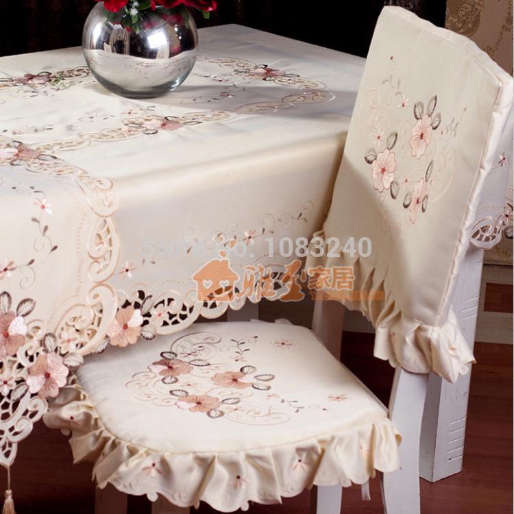 Sofa round handmade embroidered tablecloths embroidery table cloth runner tablecloth 110*160CM Rectangle(China (Mainland))