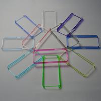 10pcs/lot 12 Colour  Transparent Bumper For iPhone 4 4s