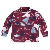 2014 Spring And Autumn New Children's T-shirt Latest European Style Fashion Cute Cartoon Boy Long-Sleeved T-shirts
