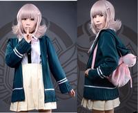 High quality Dangan Ronpa anime Cosplay Costume uniform in stock