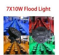 Flat and slim par stage light or 4in1 7x10w led par rgbw