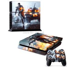 Battlefield 4 PS4 Skin running 2 – enthält 1 X PS4 Konsolen-Skin Set + 2 X Controller-Skin Sets