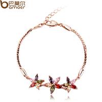 Aaa zircon crystal accessories colorful bohemia bracelet birthday gift female