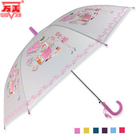 Fashion girl poe child umbrella semi automatic umbrella translucent umbrella