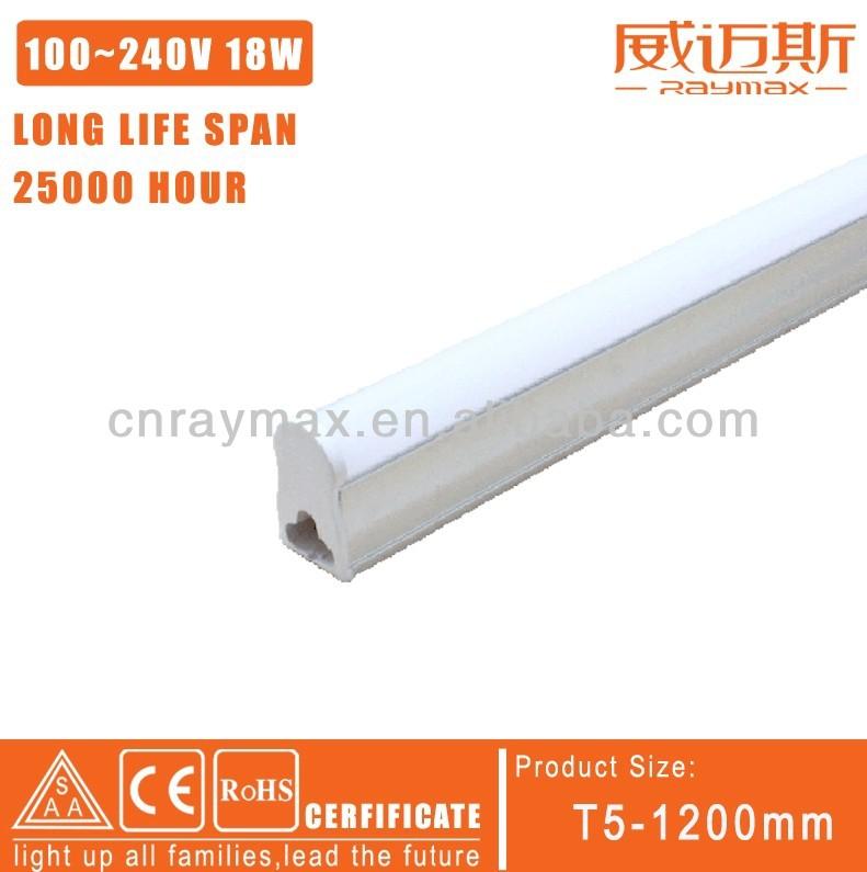 1620lm ac110v 1200mm t5 2835 chaud smd led tube lumière/cool white led tube