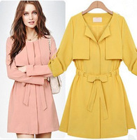 Hot Sale new arrival 2014 women's autumn/winter warm long coat jacket clothes wholesale Free Shipping 8609 High Quality jacket
