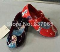 Frozen Sneakers Princess Elsa Shoes frozen for Girls ORIGINAL Girls Frozen Shoes 6pairs/lot DHL free shipping sapato infantil