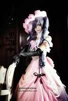 High quality Black Butler Kuroshitsuji  anime Cosplay Costume dress