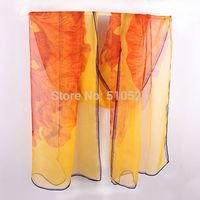 fashion women summer scarves 2014 / european brand scarves roses print wholesale free shipping