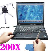 200X USB Digital 5MP Microscope Endoscope Camera 7/Vista/XP/2000/Mac OS 10.43/49 Mini Portable LED Endoscope Otoscope Camera