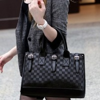 Fashion Handbag High Quality Pu Leather Women Handbag Black Knitting Belt Messenger Bag Desigual Bags B148