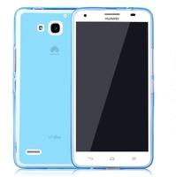 Honor 3X Case,  Soft TPU Back Cover Case Skin Shield For Huawei Honor 3X , Anti Fingerprint ,  Free Shipping