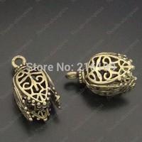 Hot sale antique bronze brass lampshade shaped pendant 8pcs 05745