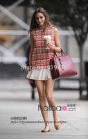 With Brand LOGO 16821 Designer 2 Jours Bag Fashion Women Handbags Quality Genuine leather Totes Vintage Ladies Shoulder Bags