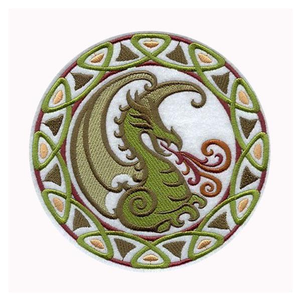 Dragon Applique Designs Celtic Dragon Applique Sew or