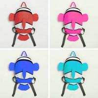 Fashion Cartoon small Clownfish kids backpack canvas boys girls mochila infantil light children school bags ZF0001