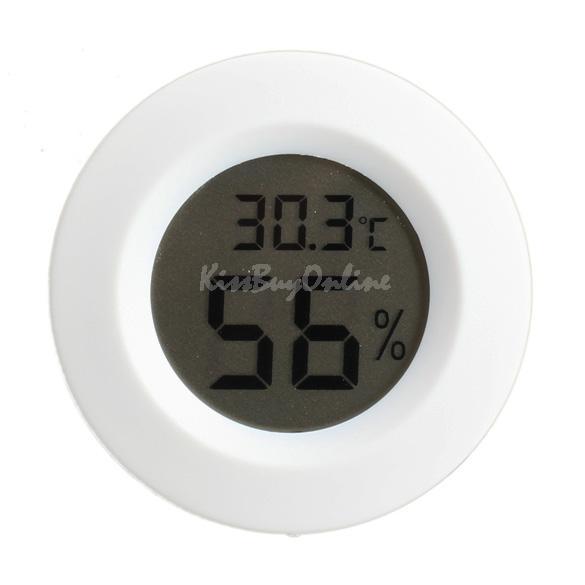 Mini LCD Digital Celsius Thermometer Hygrometer Indoor Temperature Humidity Monitoring Meter Temperature Gauge White BHU2(China (Mainland))