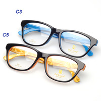 (8841) Acetate optical eyeglass with clear demo lens mix styles accepted