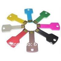 Wholesale usb flash memory pen drive128MB 20PCS Stick Drive metal key