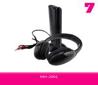 Headphone 5 in 1 Hi-Fi Wireless Headset MH-2001With Mega Bass Fashion High Quality Free Shipping