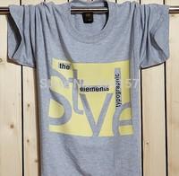 2014 Men fertilizer XL men's cotton short-sleeve T-shirt round neck short sleeve t-shirt shirt bottoming