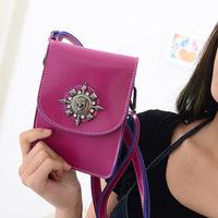 Free shipping fashion pu cross-body women messenger bag England Style Leather Handbags Vintage Women messenger bags small bag