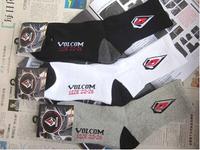 24pcs=12pair NEW USA Cotton Volco m brand DGK thicken Plantlife Skateboarding outdoors Sport Socks 24pcs/lot