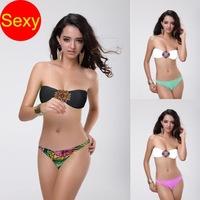 Print bikinis set   sexy women bikini  swimwear women 2014 biquini Ladies push up bathing suit maillot de bain bikini brazilian