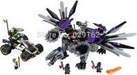White Ninja Armor Dragon! Bela Phantom Ninja Series 10224, Assembled Plastic Building Blocks Toys, Educational Toys!