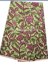2014 Free shipping !    New arrival african super wax  cotton hollandais  wax fabric  LFHL06