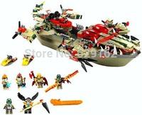 Bela Chima 10061 Cragger's Command Ship 620pcs 70006 Learn & Education DIY Enlighten Building Blocks Toy Bricks For Child Legend