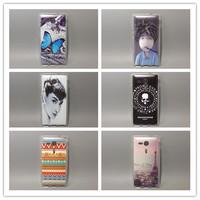 wholesale 10pcs/lot Multi species Painting Hard Plastic transparent side cover  For Sony Xperia SP M35H C5302 C5303 C5306 FS