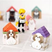 30pcs/lot Korea Stationery Cute Small Cartoon Dog Sticky Note Pad Memo Pad Paper Sticky Notes Notepad 8.4*8.4cm Wholesale