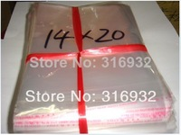Clear Resealable Cellophane/BOPP/Poly Bags 14*20 cm  Transparent Opp Bag Packing Plastic Bags Self Adhesive Seal