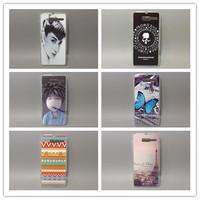 wholesale 10pcs/lottransparent side Multi species Painting Hard Plastic Phone Case For Motorola Razr i XT890 XT907 Free shipping