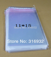 Clear Resealable Cellophane/BOPP/Poly Bags 11*15cm  Transparent Opp Bag Packing Plastic Bags Self Adhesive Seal