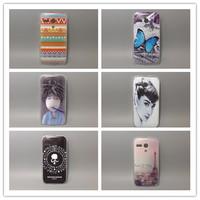 wholesale 10pcs/lottransparent side cover species Painted Hard Plastic Phone Case For Motorola MOTO G XT937C,XT1028,XT1031