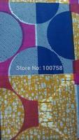 2014 Free shipping !    New arrival african super wax  cotton hollandais  wax fabric  LFHL12