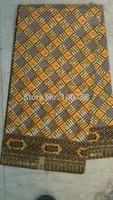 2014 Free shipping !    New arrival african super wax  cotton hollandais  wax fabric  LFHL13