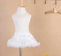 Free Shipping Fashion Skirts New 2014 Girls Skirts Summer Ballet Tutu Leisure White Princess Skirt