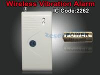 CE/Rohs Approved Alarm Sensor Home Security Vibration Door Window Detector Burglar Alarm free shipping