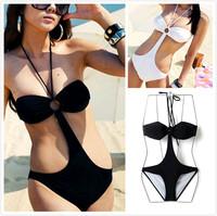 2014 hot fashion cute lady sexy triangle bikini swimwear piece free shipping LT066