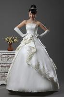 Free shipping New arrival 2014 Irregular Prom Gown Bridesmaid Chiffon Party Mini Pleated fashion noble Wedding princess dress
